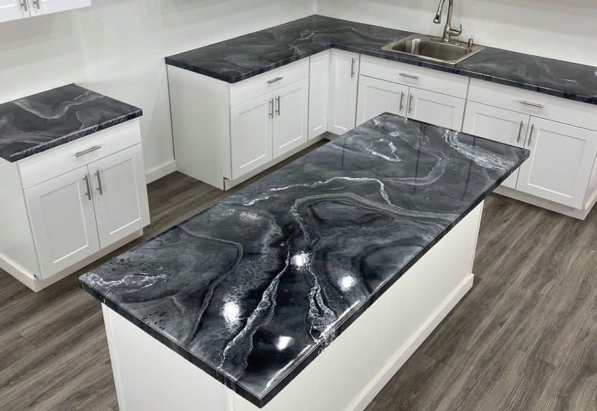 Epoxy Kitchen Countertop