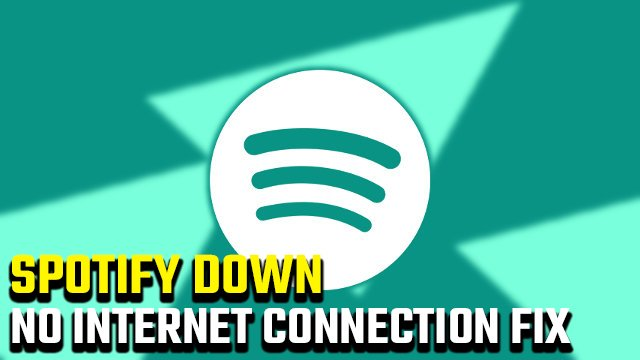 No Internet Connection Detected Error On Spotify.