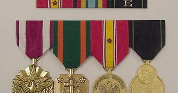 Right Thin Military Ribbon