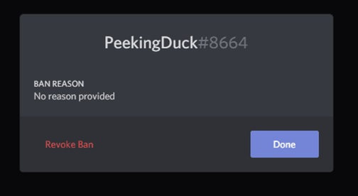 Steps to unban users on Discord 3