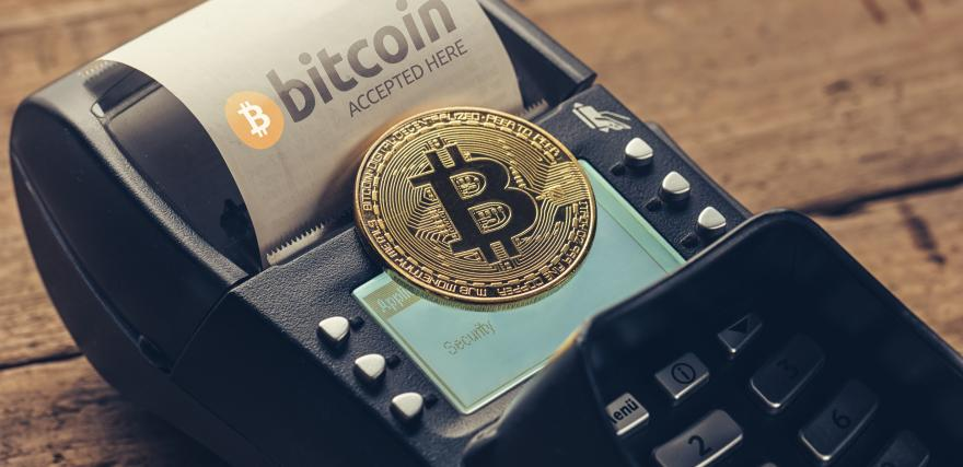 Accept Cryptocurrencies From Customers