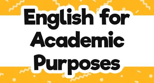 English for academic purpose