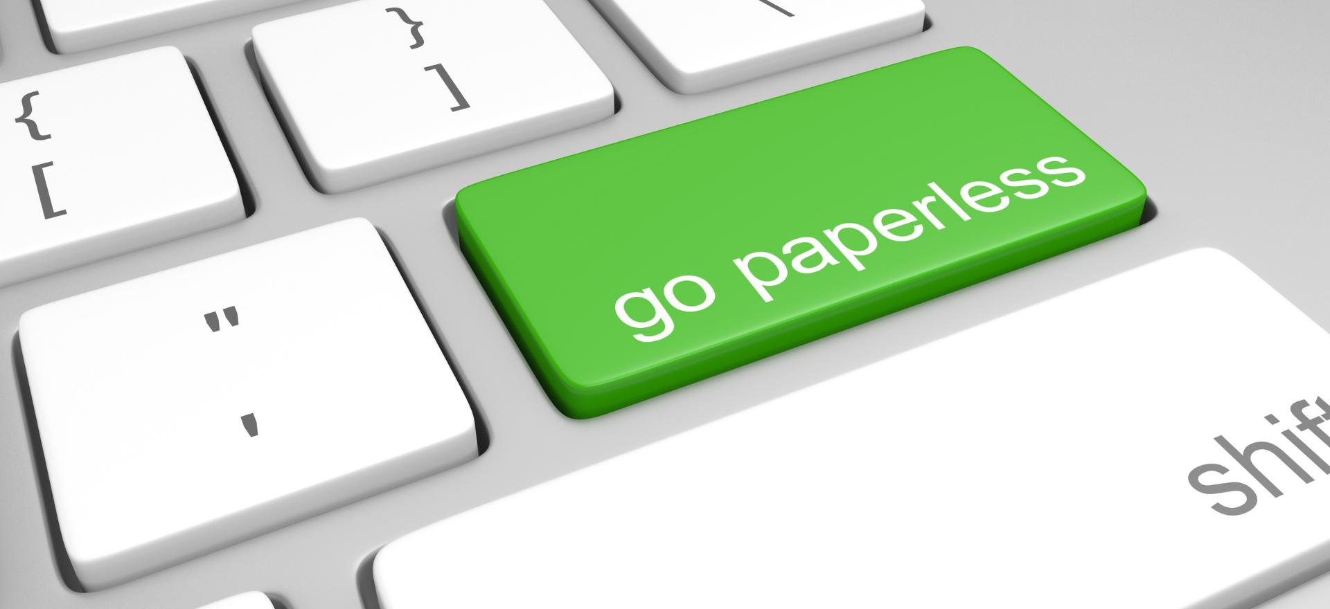 Paperless Paycheck Stub