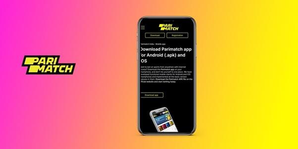 PariMatch app for iOS