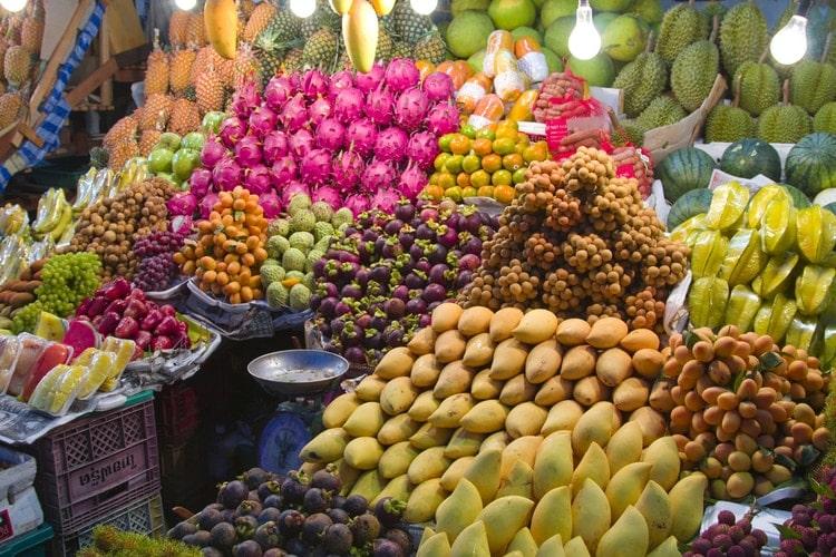 Thai Fruits in Thailand