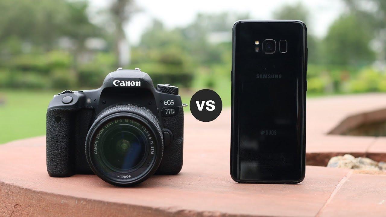 DSLR Vs Smartphone Camera