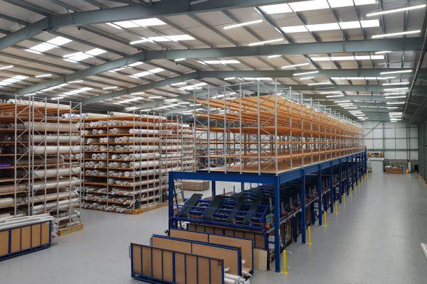 Mezzanine Floors Can Increase Warehouse Storage Capacity