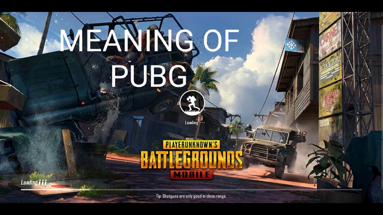 PUBG Meaning