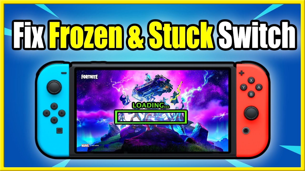 Resolve Nintendo Switch Frozen