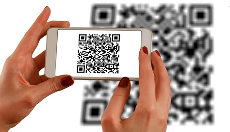 Scanning the code requires a smartphone