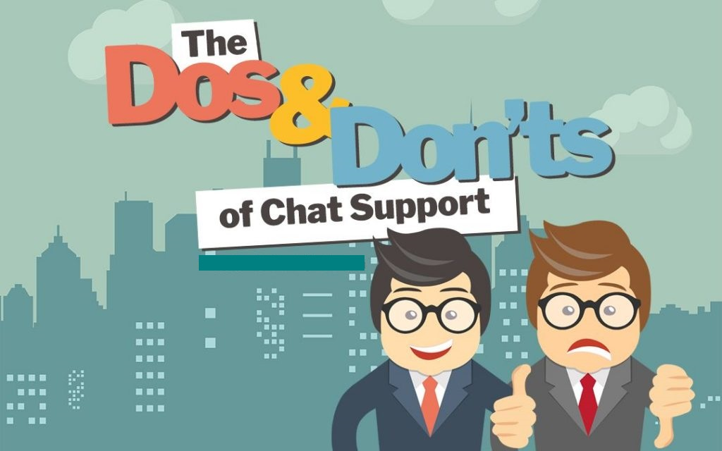 8 Do's And Don'ts of Live Chat Support