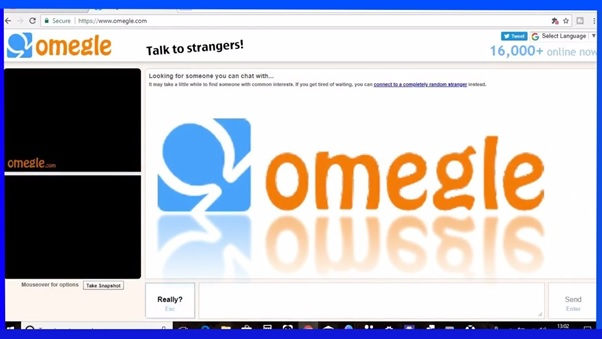 Omegle – The New Chat Application