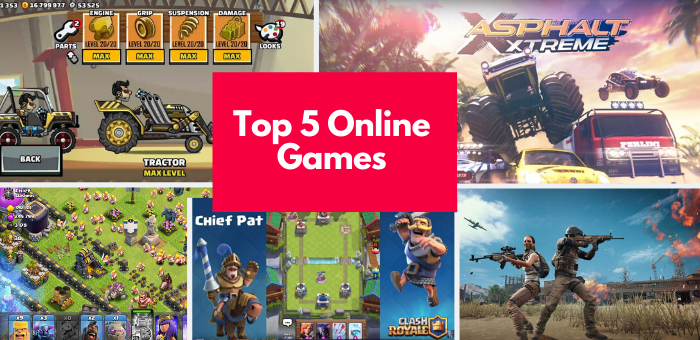 Top 5 Online Games to Play in 2021