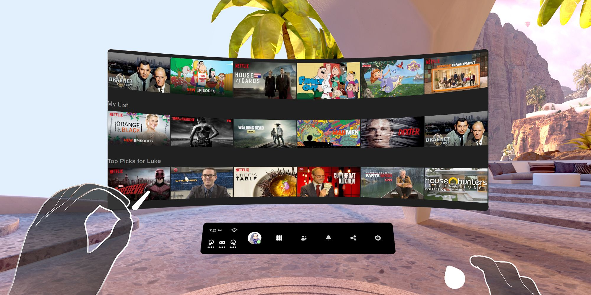 Watch Movies in VR on your Oculus Quests