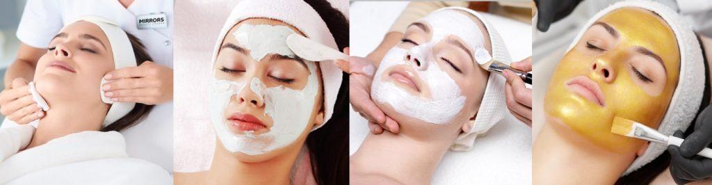 BEST FACIAL TREATMENT DUBAI at Mirrors Beauty Lounge