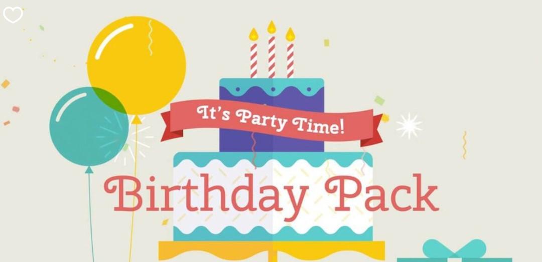 Birthday Pack