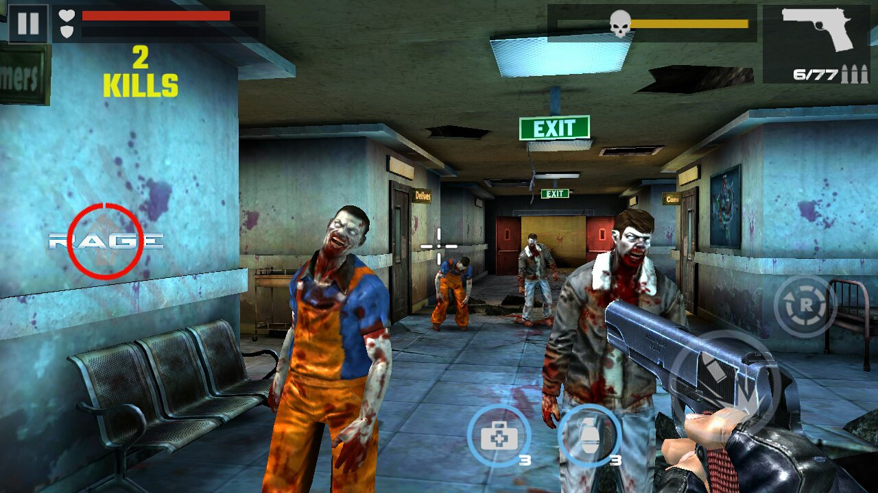 Dead Target A Zombie Game For Android