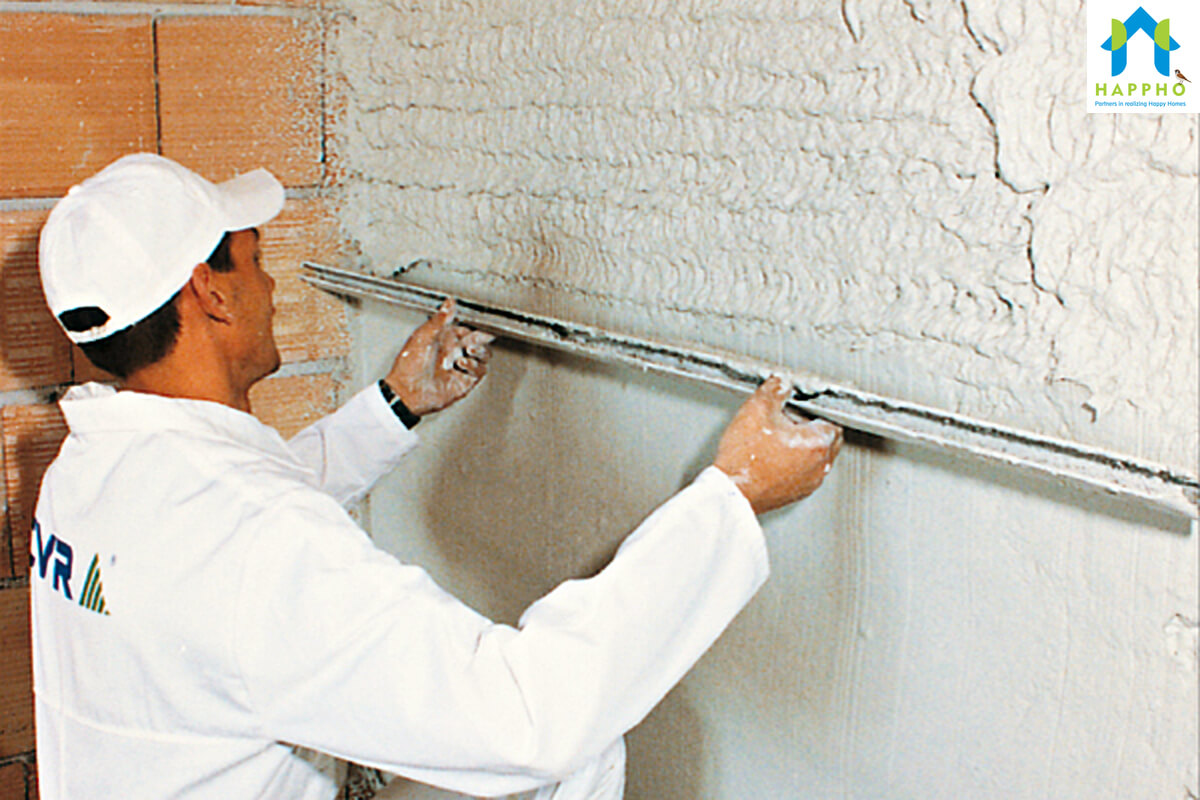 Gypsum Plaster as a coating substance