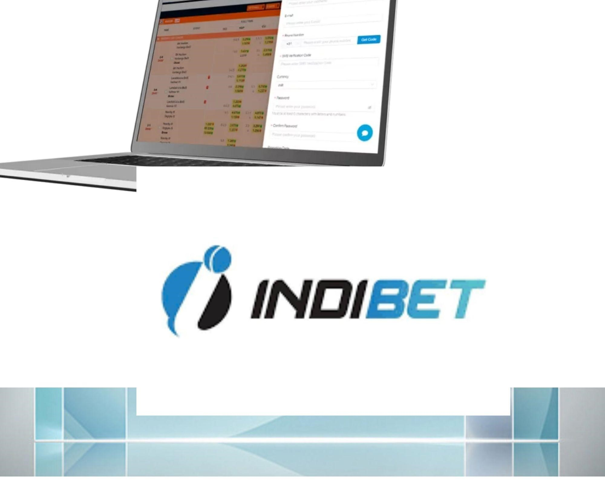 How to use the Indibet app