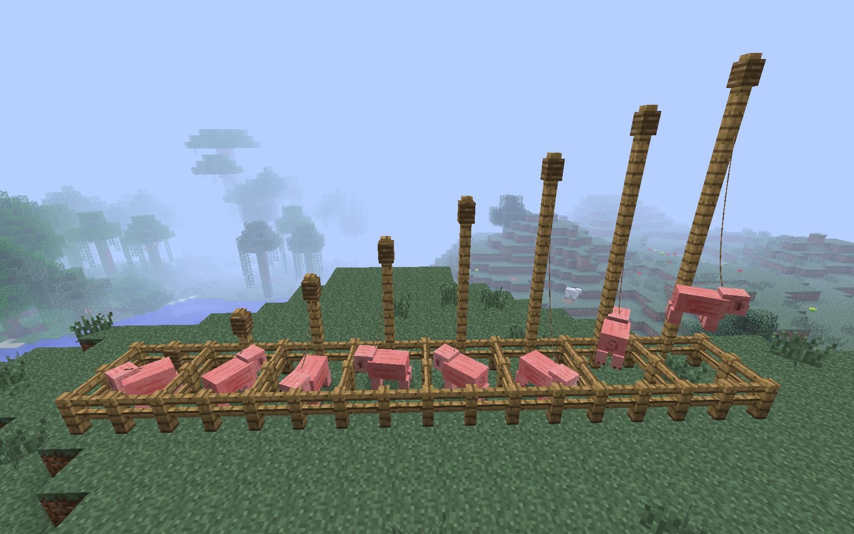 Make a Minecraft Lead
