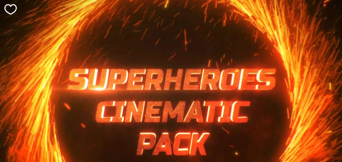Superheroes Cinematic Pack