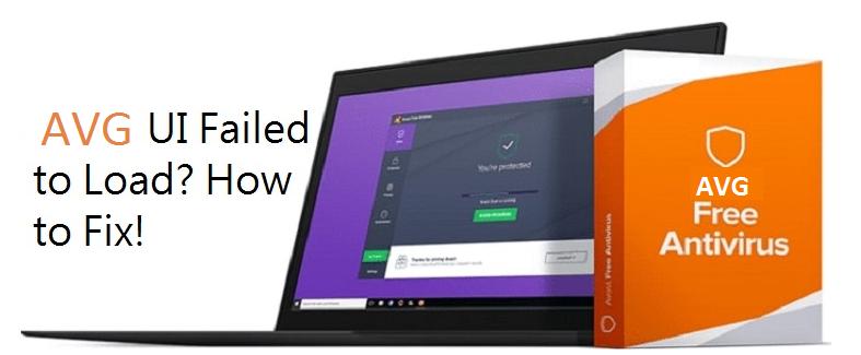 UI Failed to load AVG