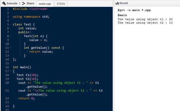 C++ Static Variables Stored