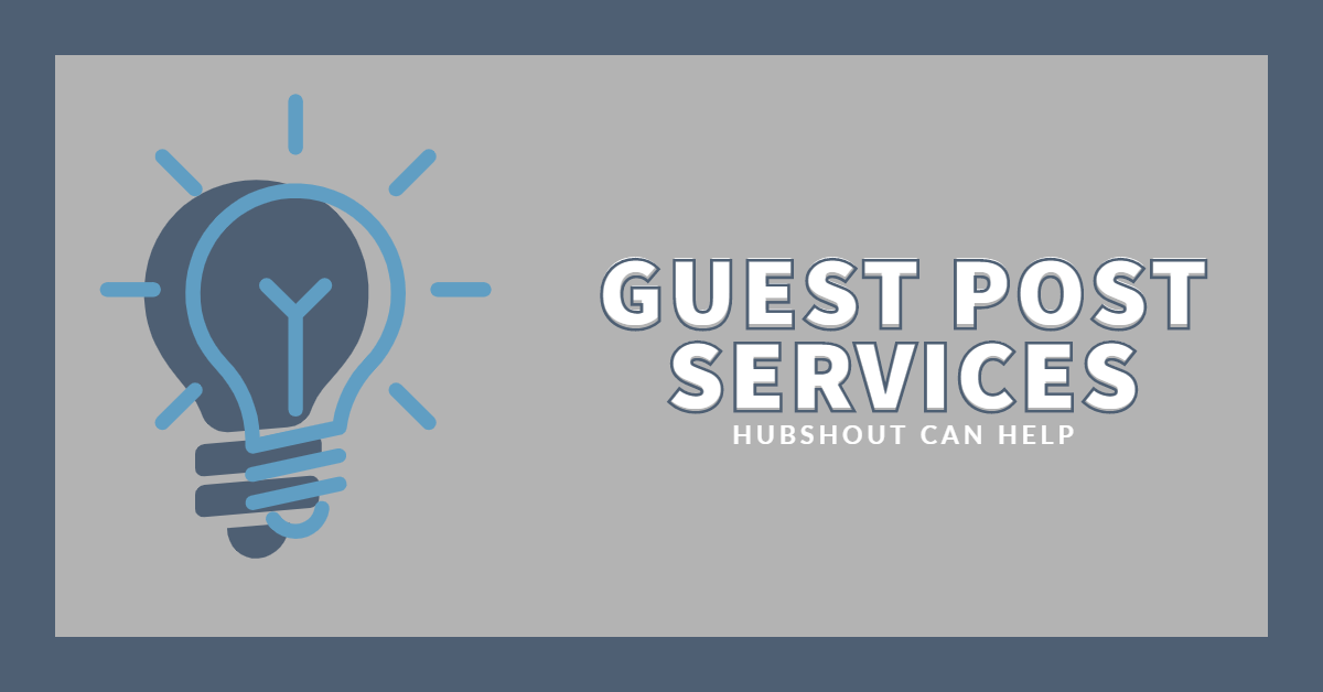 Guest Post Outreach Service